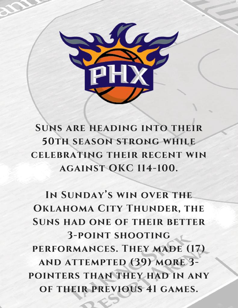 Phoenix Suns update