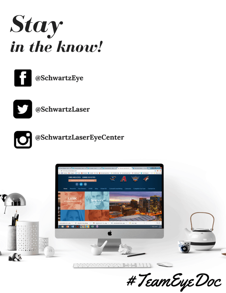 Schwartz Eye Laser Center social media