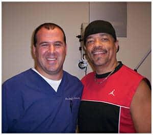 Dr. Schwartz & patient rapper Ice-T
